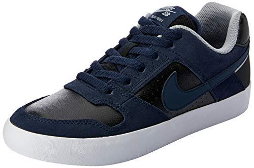 new concept f5e61 be7b2 Nike SB Delta Force Vulc, Zapatillas de Skateboarding para Hombre,  Obsidian Black