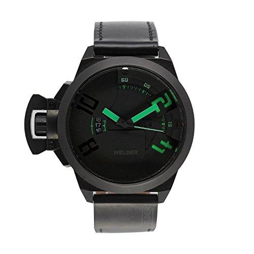 Coffret reloj Welder hombre K-24modelo Data negra y verde–3102/1802K24