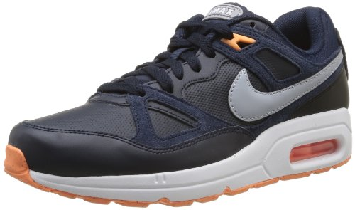 Nike Nike Air Max Span, Chaussures de sport homme Gris (Obsidian/Wlf Gry/Blk/Atmc Orng)