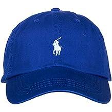 Ralph Lauren Casquette Bleu Royal Logo Bleu Ciel pour Homme 24110ba6c66