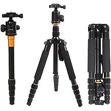 Andoer Aleación de Aluminio Trípode Extensible Unipod Monopod con Cabeza de Bola para Canon Nikon Sony DSLR Camera Portátil