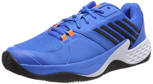 K-Swiss Performance Aero Court HB Scarpe da Tennis Uomo, Blu (Brilliant Blue/Neon Orange 427M) EU
