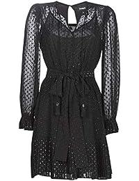 Michael MICHAEL KORS MF98Z7L7YH-001-BLACK Dresses Femmes Black Short Dresses