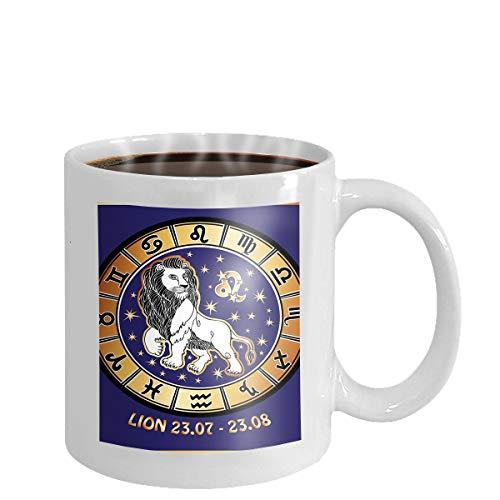 Coffee cup mug blue fantasy fractal lightning 11oz - Blue Mug Cup