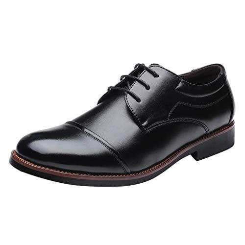 Unglaubliche Kostüm Anzug Herr - Fascino-M』 Herren Schnürhalbschuhe Klassische Derby Lederschuhe Modische Anzug Schuhe Lace ups Herren Business Schuhe Hochzeit Formale Oxford Schuhe