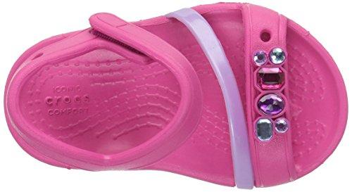 crocs Mädchen 204030 Closed-Toe Ballerinen Pink (Candy Pink)