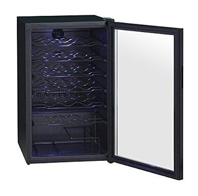 La Sommeliere VN50 Vinosphere Wine Cellar with 48B Compressor, Black