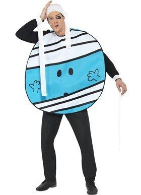 Bump Kostüm Mr - Original Lizenz Mr. Bump Kostüm Bumpkostüm blau Unfall Gr. M