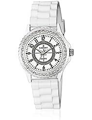 Radiant RA104602 - Reloj con correa de caucho para mujer, color blanco / gris