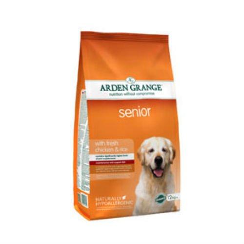 Arden Grange Adult Senior Hund mit Huhn