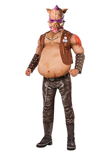 Kostüm Bebop - Rubie's TMNT 2 Adult Deluxe Bebop Fancy dress costume Standard