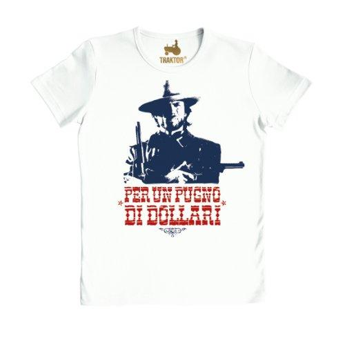 Logoshirt Unisex T-Shirt PER UN PUGNO DI DOLLARI T-SHIRT SLIMFIT weiß S