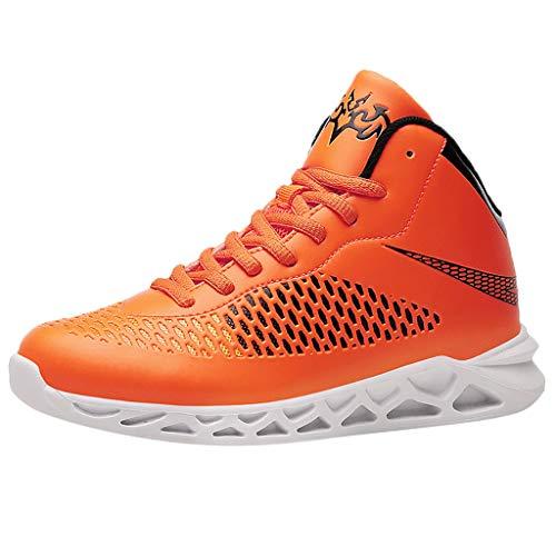 Cuteelf Männer Basketball Sneakers Coole Jungs Sport Schuhe Basketball Schuhe für Männer Kinder Schuhe Jungen Schuhe Mädchen Sneaker Hallenschuhe Kinder Sportschuhe