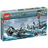 LEGO - 8633 - Jeu de construction - Agents - Mission 4: Secours en hors-bord