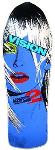 Vision Aggressor 2Neuauflage Skateboard Deck 26x 77,5cm, BD0V30-natural, Natur, 10.25 x 30.5-Inch