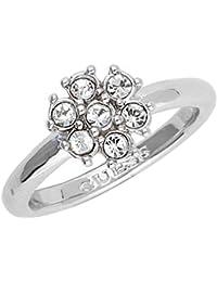 Guess Damen Fingerring Metall Silber California Sunlight UBR28517