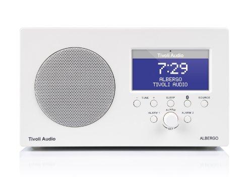 Tivoli Albergo Bluetooth UKW-/MW-Radiowecker in Weiß