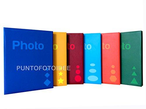 Album Fotografico Basic a Tasche 11x16 per 300 Foto Formato 11x16/10x15/10x13 - Vari Colori Disponibili