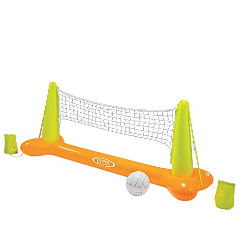 Produktbild Intex Pool Volleybal Game - Aufblasbares Wasserballspiel - Volleyballnetz - 239 x 64 x 91 cm