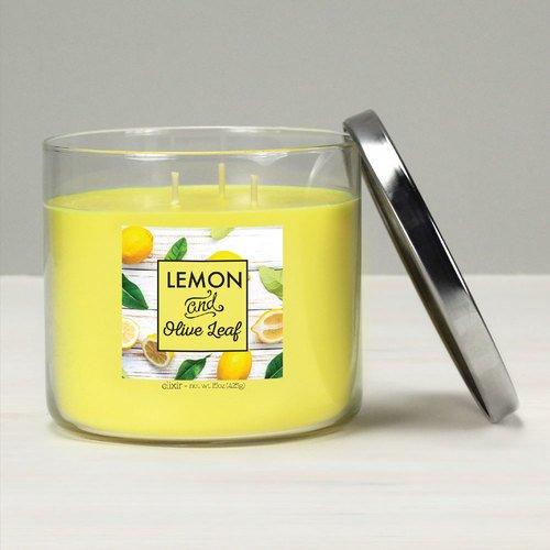 Creek Olive (GOOSE CREEK Elixir Duftkerze Glas 3 Dochte Lemon & Olive Leaf 425 g)