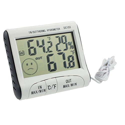 Bocideal New Digital DC103 LCD Display Humidity Temperature Hygrometer Thermometer Test