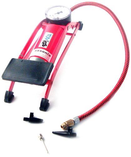 Cartec 231780 CARTEC Fußluftpumpe mit Druckanzeige