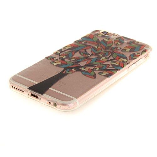 A9H iPhone 6/6S 4.7 Hülle mit Kameraschutz transparent dünne Schutzhülle Case Cover für iPhone 6/6S aus flexiblem TPU -27HUA 25HUA