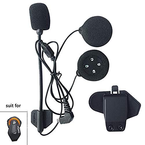 FreedConn Mikrofon Lautsprecher Fest Kabel Headset für TMAX,Hochwertige High Definition-K