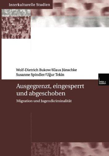 Ausgegrenzt, Eingesperrt und Abgeschoben: Migration und Jugendkriminalität (Interkulturelle Studien)
