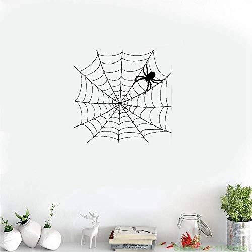wandaufkleber 3d Wandaufkleber Schlafzimmer Netz-Netz-Spinnennetz-Spinne beängstigend