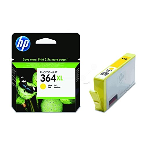 HP - Hewlett Packard PhotoSmart 5514 e-All-in-One (364XL / CB 325 EE#301) - original - Tintenpatrone gelb - 750 Seiten - 7ml (Hp Photosmart 5514 Druckkopf)