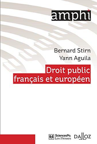 Le droit public français et européen: ...