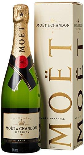 Moët & Chandon Brut Impérial Champagner mit Geschenkverpackung (1 x 0.75 l)