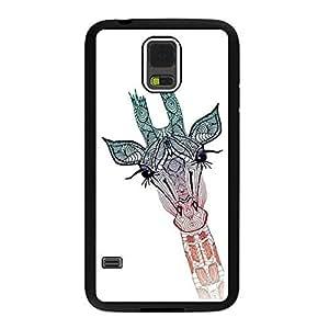 NADIA DaojieTM Generic Giraffe Premium Hard Plastic Shell Rubber Protective Cover Case for Samsung Galaxy Note4