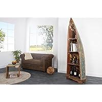 Comparador de precios Casa-Padrino Vintage Shelf Cabinet Boat Teak - 100% Recycled Waste Wood - precios baratos