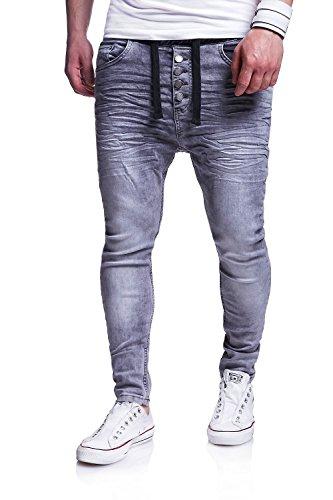 MT Styles Jogg-Jeans Pantalon homme RJ-289 Gris
