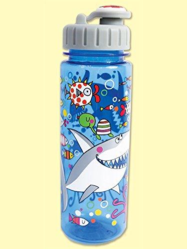 RACHEL ELLEN DESIGNS - Botella infantil grande de tritán Mar - RE-BOT10