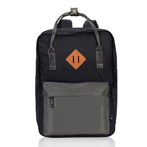 Imagen de veevan unisex grandes bolsas de escuela   para laptop para niñas adolescentes chicas gris