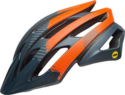 Bell Unisex- Erwachsene Catalyst MIPS Fahrradhelm, Bluster m Slate/orange/Coal, M