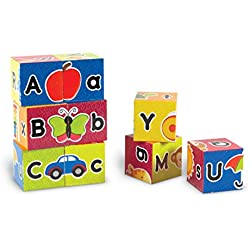 Learning Resources Alphabet Puzzle Blocks