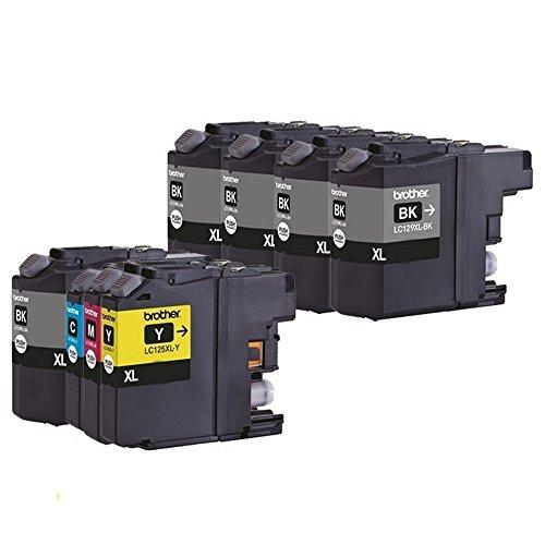 Preisvergleich Produktbild DOREE kompatibel LC129XL LC125XL LC129XLBK LC125XLC LC125XLM LC125XLY(8-Stück 5Schwarz Cyan Magenta Gelb)Tintenpatrone kompatibel für Brother J6520DW/J6720DW J6920DW