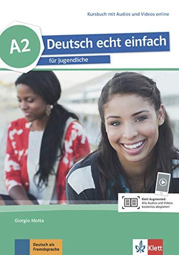 deutsch echt einfach! a2, libro del alumno con audio online