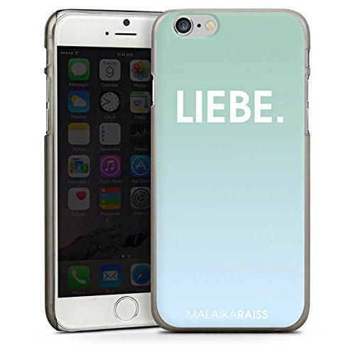 Apple iPhone 5s Housse Étui Protection Coque Amour Amour Menthe CasDur anthracite clair