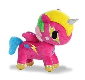 Aurora- Peluches y muñecas, Color Rosa, 0,20 m (8 Pulgadas) (15680)