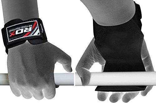 RDX Zughilfen Krafttraining Latzughilfe Gewichtheben Klimmzughaken Palme Handgelenkstütze