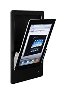 idock Hoch schwarz 230V Blende Alu schwarz Lightning (iPad 4)