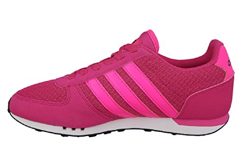 adidas  City Racer W, chaussure de sport femme BOLD PINK/SHOCK PINK S16/CORE BLACK