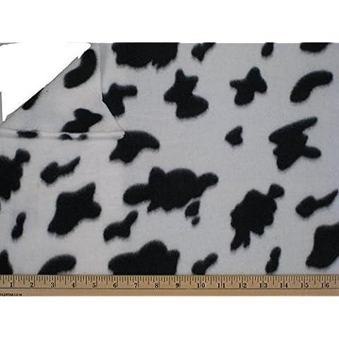 "LA Linen â""¢ Printed Polar Fleece by the yard 58/60-Inches Wide, Cow by LA Linen"
