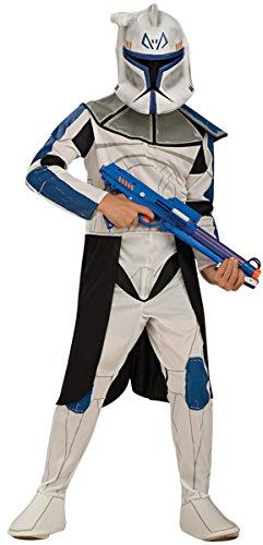Seiler24 Clone Trooper Kostüm für Kinder 8-10 ()