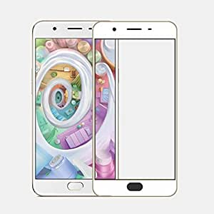 IDEAL For : Oppo F1s 5.5 IDEAL Edge to Edge Full Front Body Cover Coloured (GOLD) 2.5DFull Glass Screen Protector Guard for Oppo F1s 5.5 -Gold